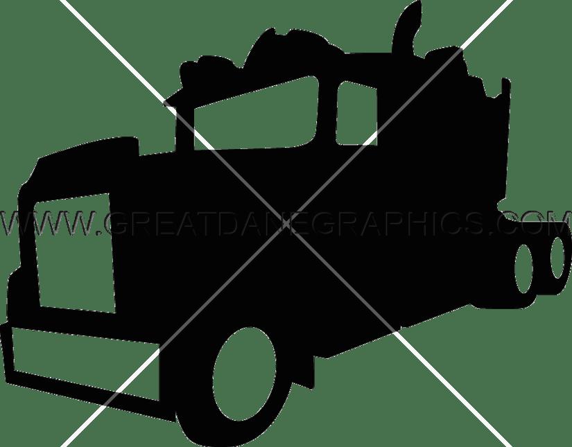 825x645 Big Bad Truck Production Ready Artwork For T Shirt Printing