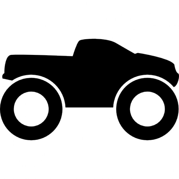 626x626 Small Truck With Big Wheels 4x4 Icons Free Download