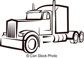 big truck silhouette at getdrawings com free for personal use big rh getdrawings com semi truck vector side view semi truck vector download