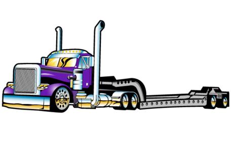 456x285 Truck Trailer Clip Art, Free Vector Truck Trailer