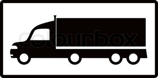 320x158 Big Collection Of High Detail Trucks Silhouette Vector