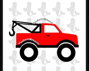 340x270 Big Truck Clip Art Etsy