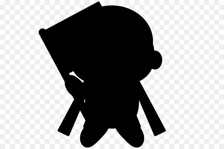 900x600 Bigfoot Silhouette Black And White Clip Art