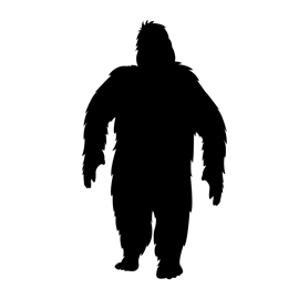 270x270 Bigfoot Stencil Free Stencil Gallery