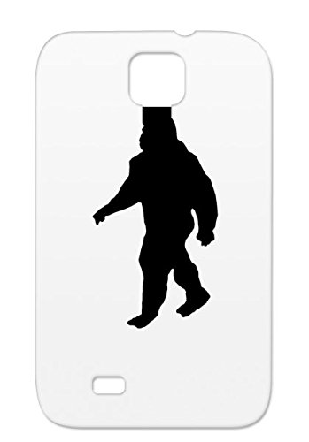 349x500 Anti Drop Black For Sumsang Galaxy S4 Bigfoot Shadow Funny