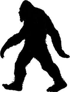 236x307 Silhouette Of A Bigfoot Walking Bigfoot, Silhouettes