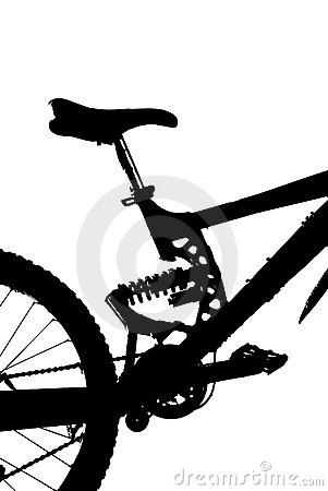 301x450 Fully Mountain Bike Silhouette Clipart Panda