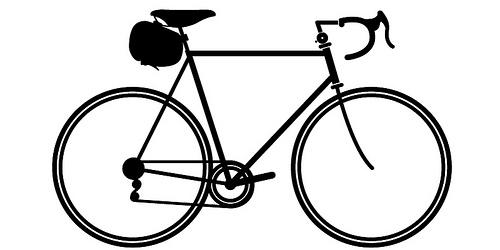 500x250 Bike Silhouette Classic Bike Tinker