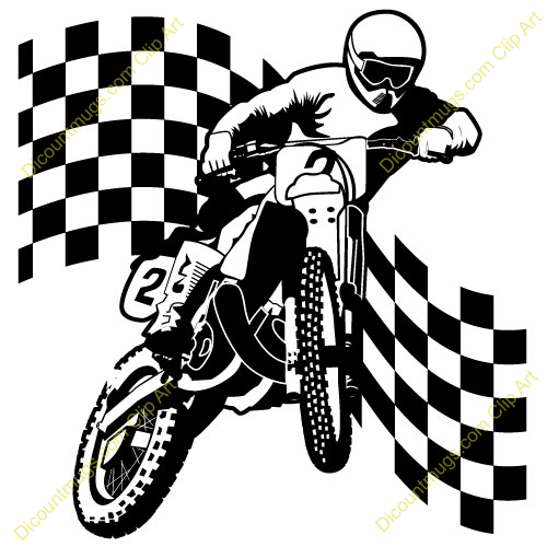 500x500 Dirt Bike Clip Art