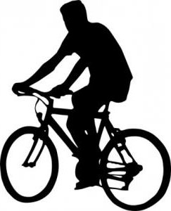 243x300 Bicycle Clipart Silhouette Many Interesting Cliparts