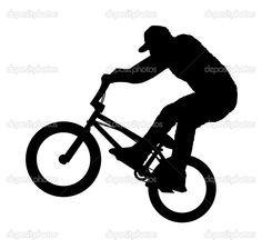 236x224 Mountain Bike Jump Silhouette