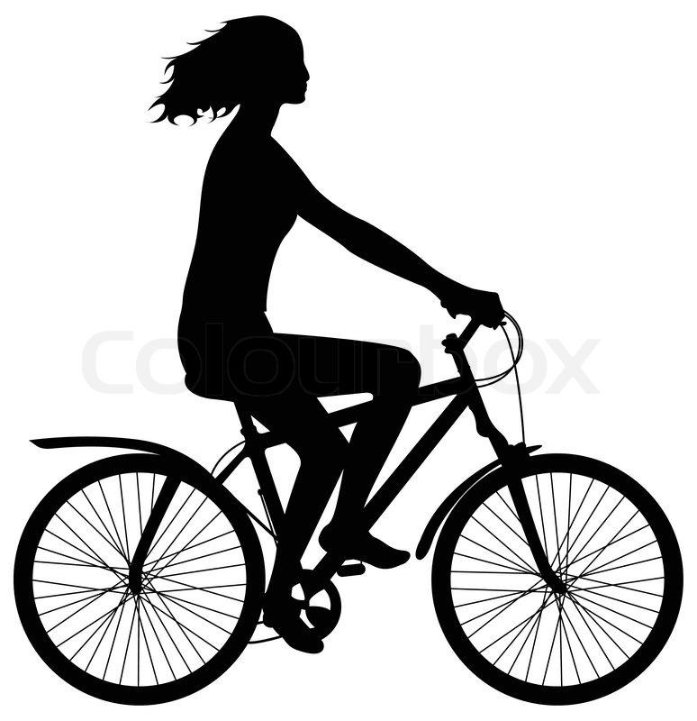 774x800 Bike Clipart Female Cyclist Many Interesting Cliparts