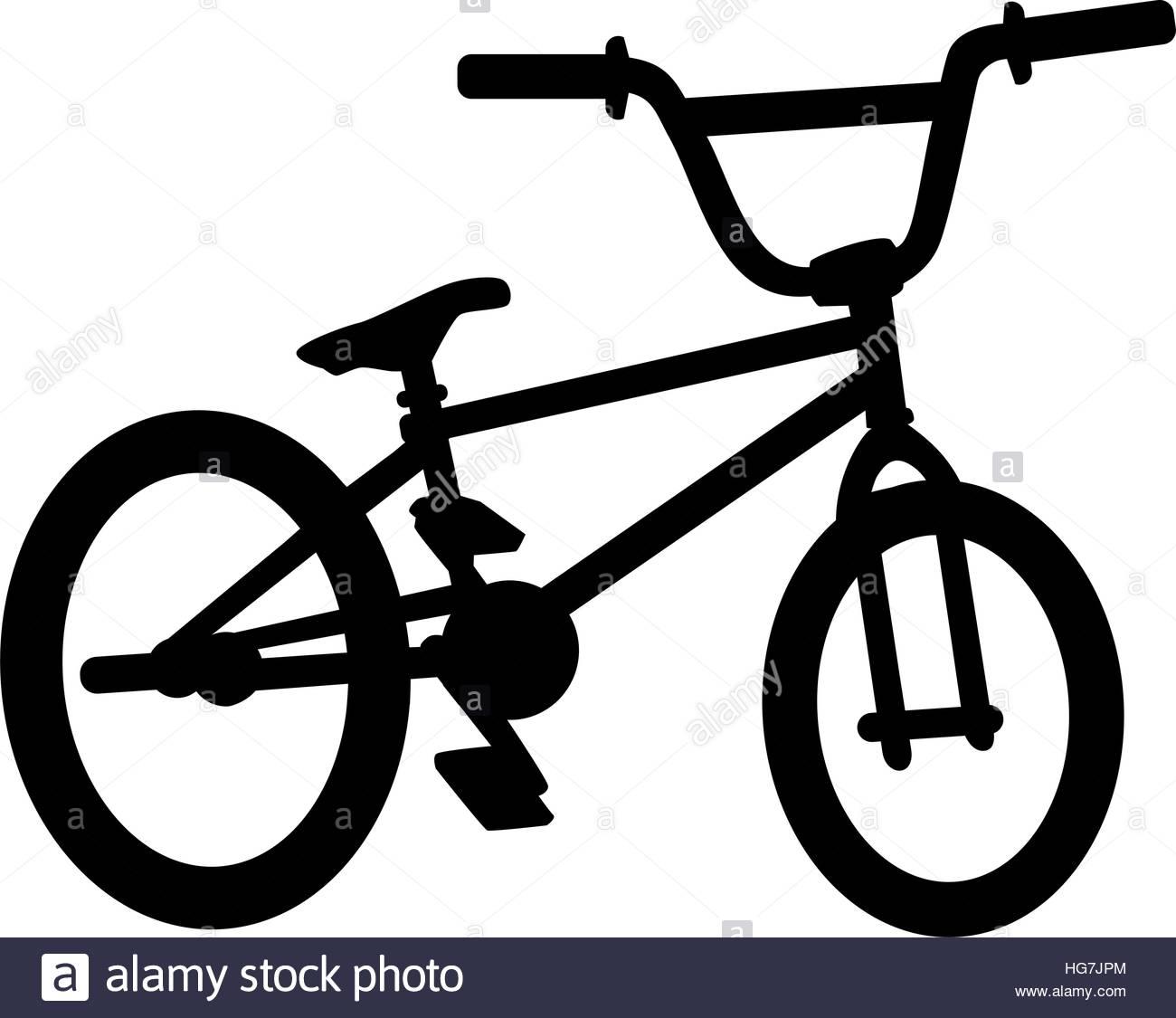 1300x1125 Bmx Bike Silhouette Stock Vector Art Amp Illustration, Vector Image