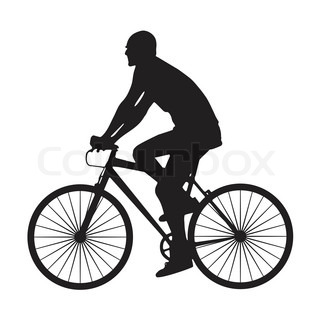 320x320 Vector Image Of Sports Bike. Silhouettes On A White Background