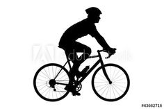 236x157 Bike Riding Clipart Image Cliprt Ilustration Silhouette