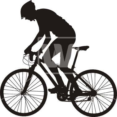 377x376 Biker Silhouette