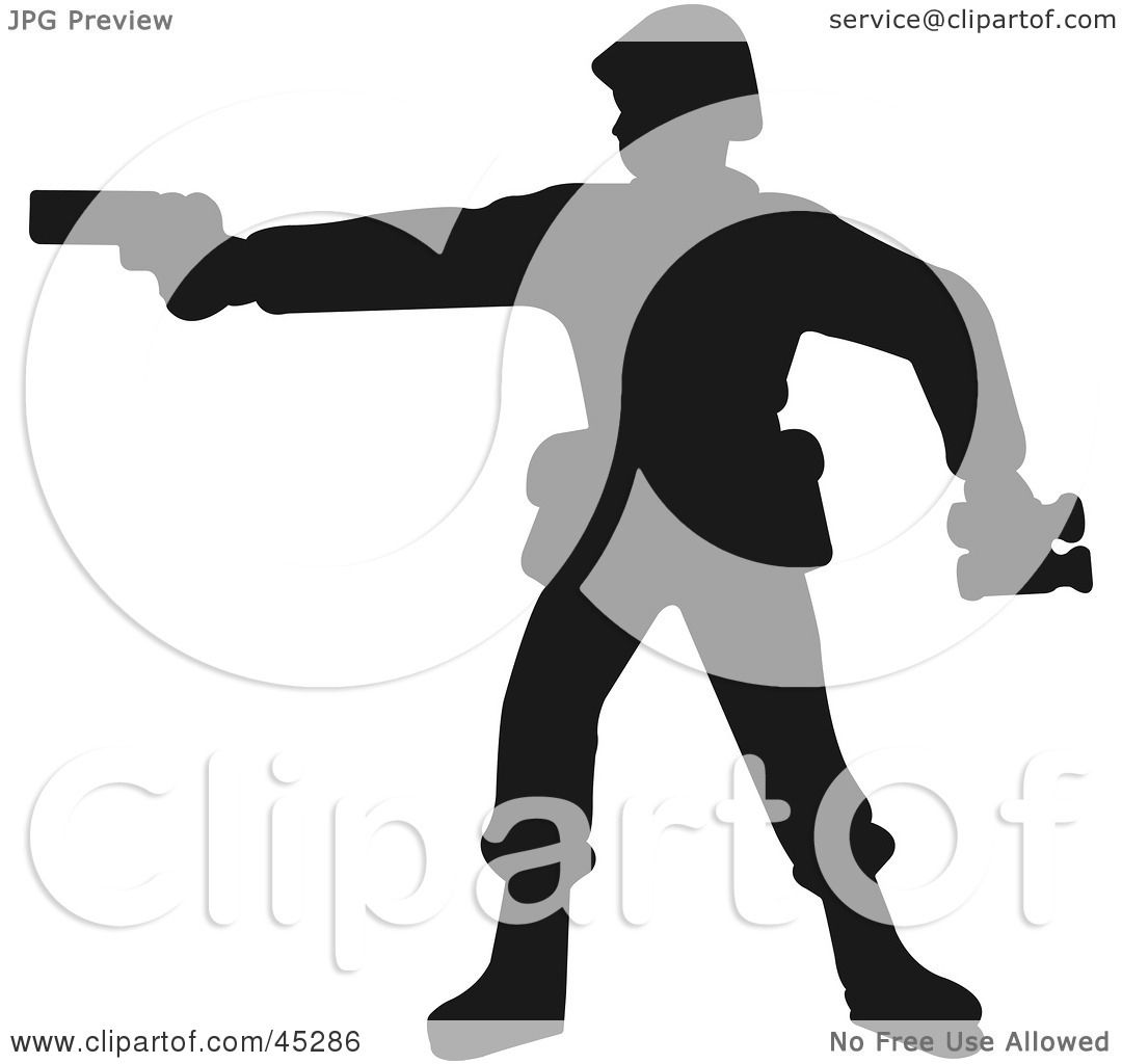 1080x1024 Royalty Free (Rf) Clipart Illustration Of A Profiled Green Soldier
