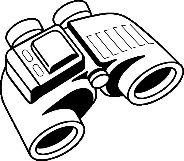 600x526 Binoculars Clip Art Free Vector 4vector