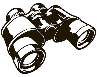 340x270 Binoculars Svg Etsy