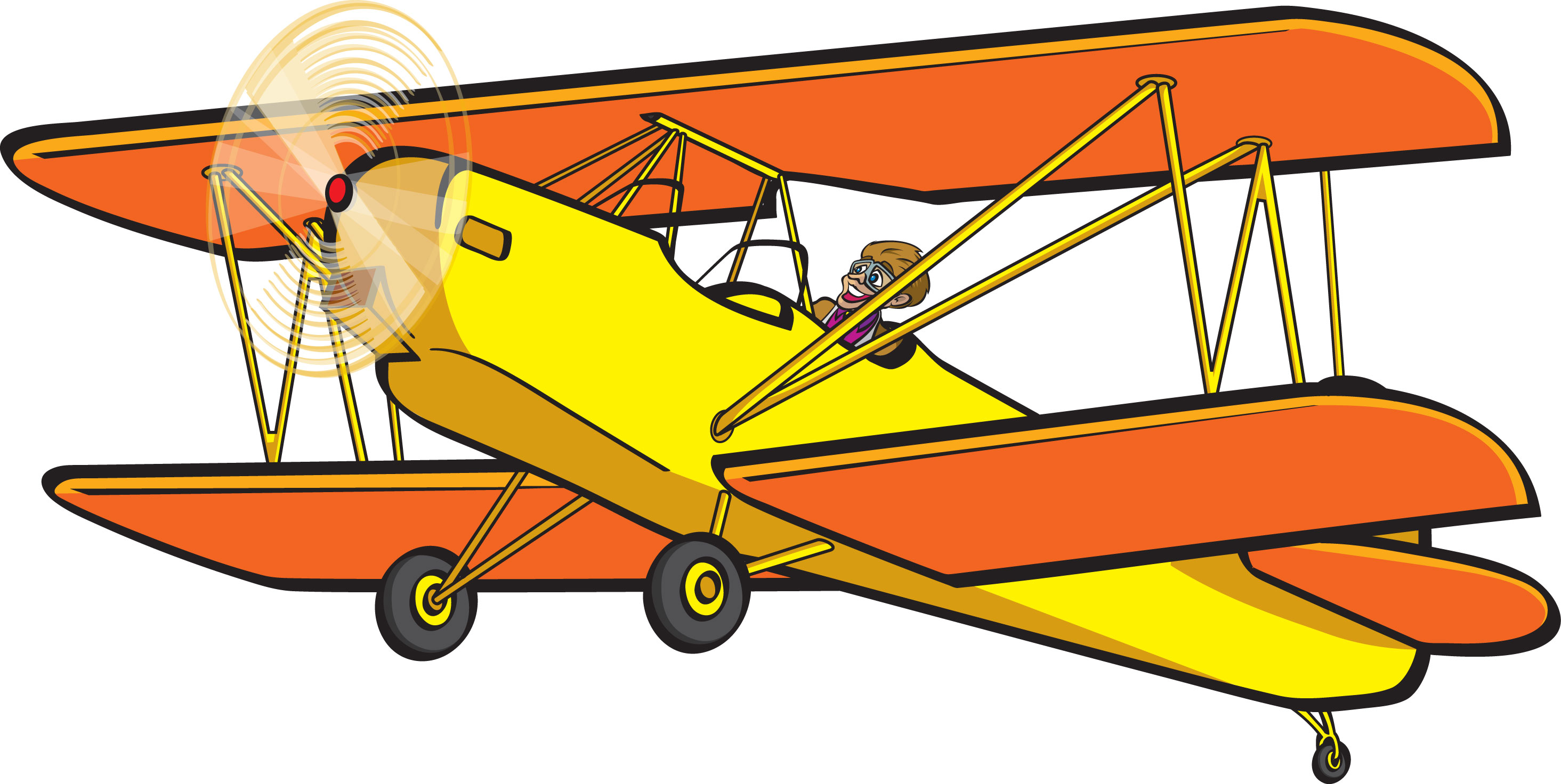 biplane clipart silhouette at getdrawings com free for personal rh getdrawings com airplane clipart cartoon airplane clip art free