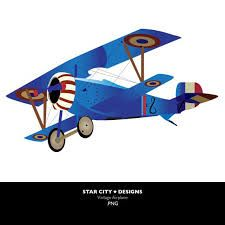 225x225 Prentresultaat Vir Biplane Vector Silhouette Templates