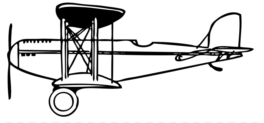 900x420 Airplane Fixed Wing Aircraft Flight Biplane Clip Art