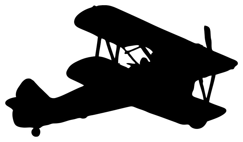 800x466 Biplane Silhouette Photographic Prints By Lucid Reality Redbubble