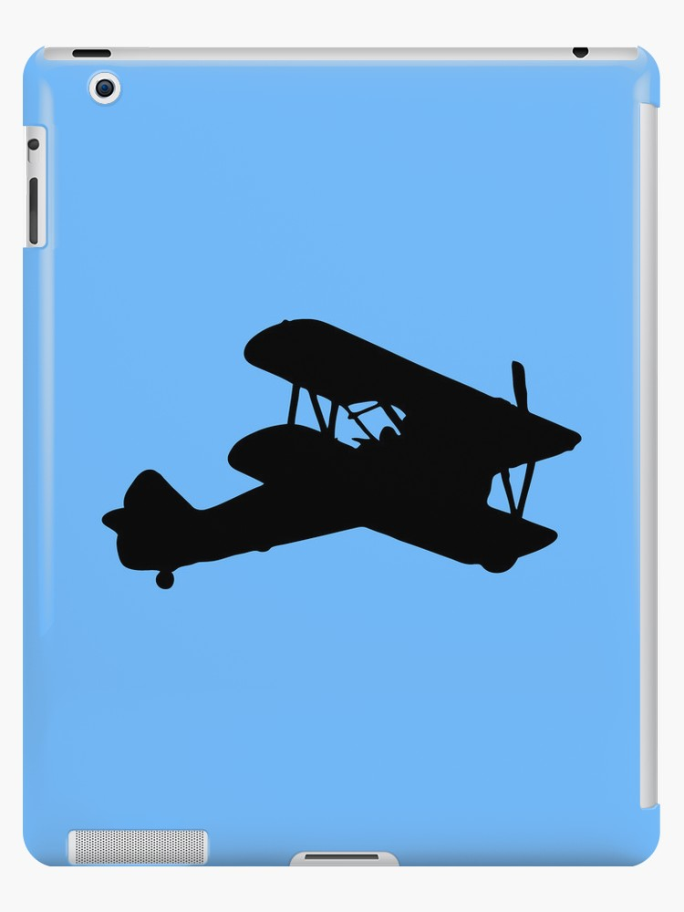 750x1000 Biplane Silhouette Ipad Cases Amp Skins By Lucid Reality Redbubble