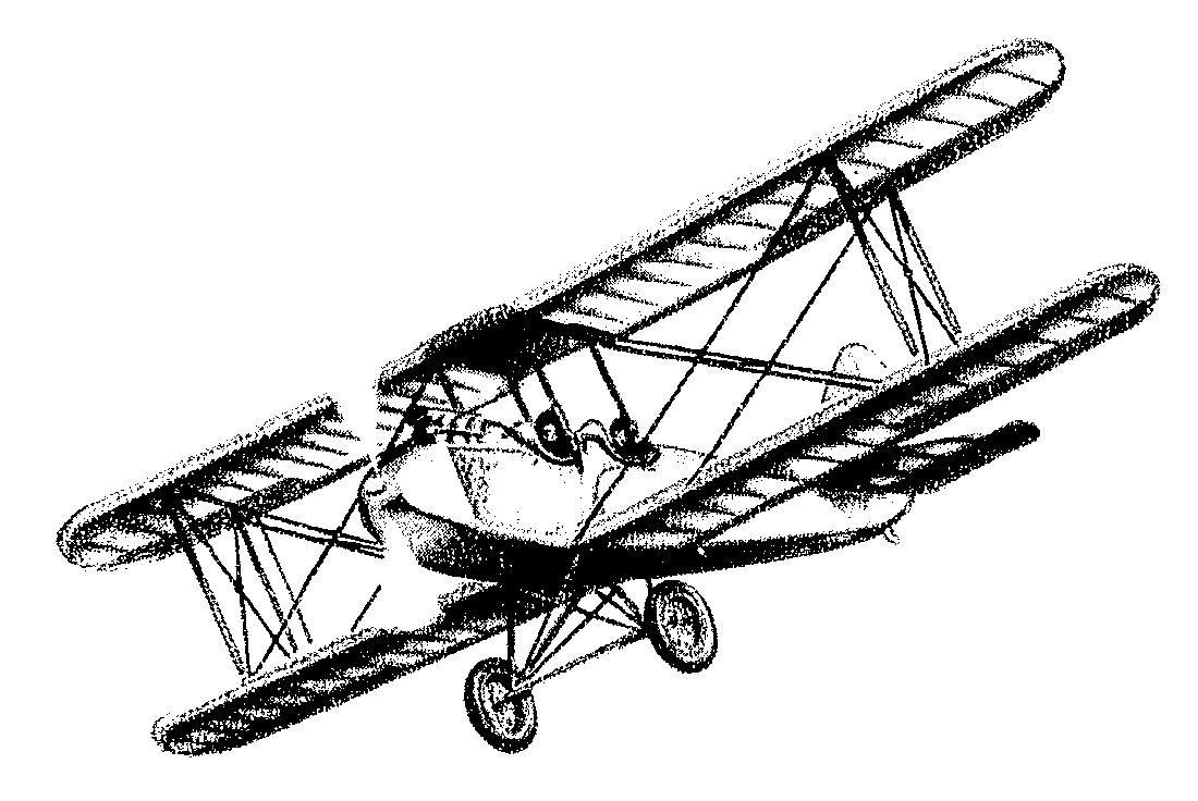 1100x736 Vintage Biplane Abner