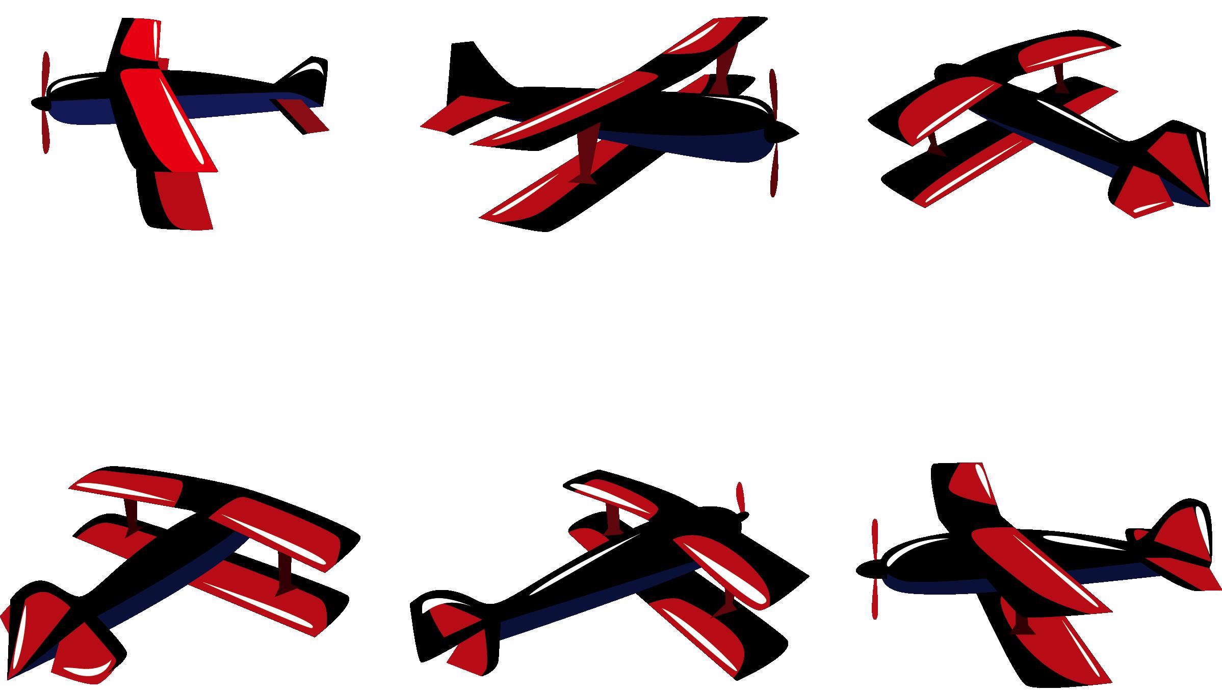 2397x1355 Airplane Logo Biplane Silhouette