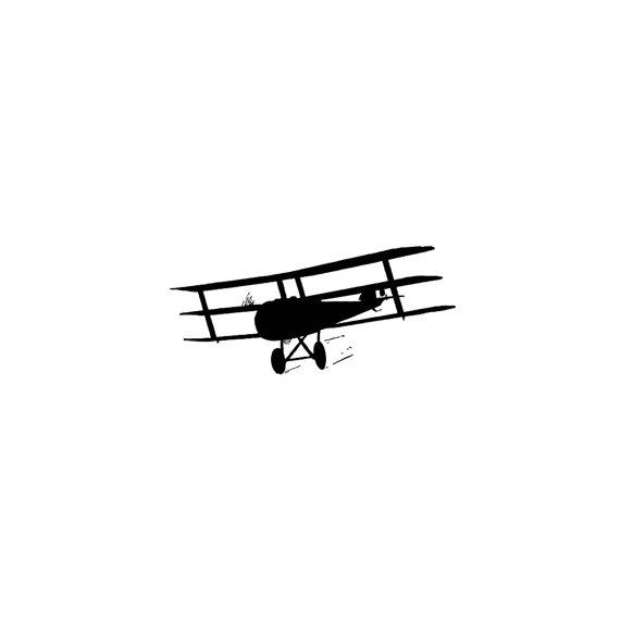 570x570 Biplane Rubber Stamp Prop Plane Old Vintage Airplane