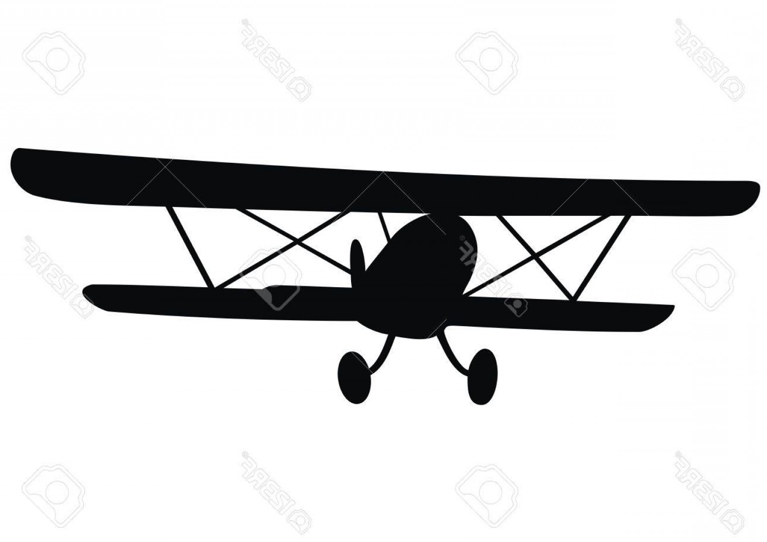 1560x1102 Bi Plane Vector Art Lazttweet