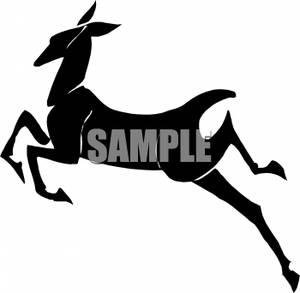 300x293 Deer Silhouette