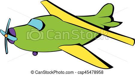 450x253 Biplane Icon, Icon Cartoon. Biplane Icon In Icon In Cartoon