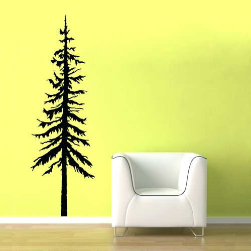 500x500 Wall Arts ~ Vinyl Wall Art Tree Silhouette Vinyl Wall Art Birch
