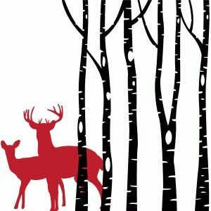 300x300 Forest Friends Forest Friends, Silhouette Design And Silhouettes