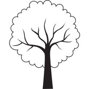 300x300 Tree Outline