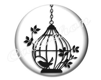 Bird Cage Silhouette