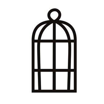 340x340 Free Cliparts Bird, Parakeet, Bird Cage