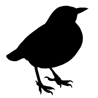 400x400 Bird Silhouette Clipart Transparent Png