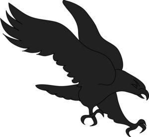 300x276 Printable Hawk Silhouette Bird Of Prey Clipart Image