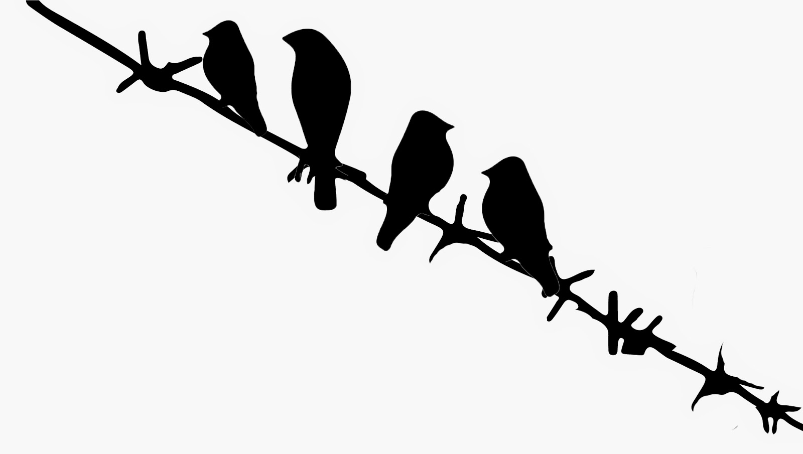 Bird On Wire Silhouette at GetDrawings.com | Free for ...