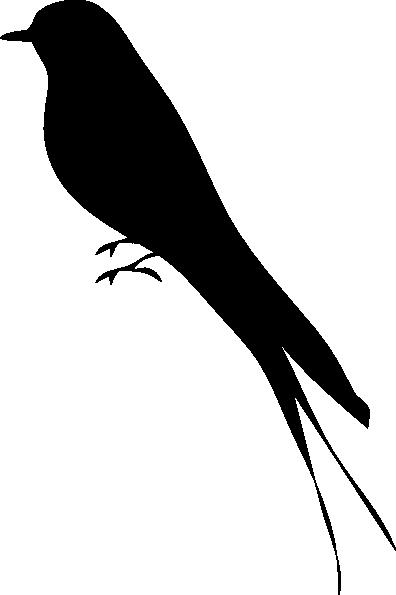 396x595 Bird Profile Clip Art