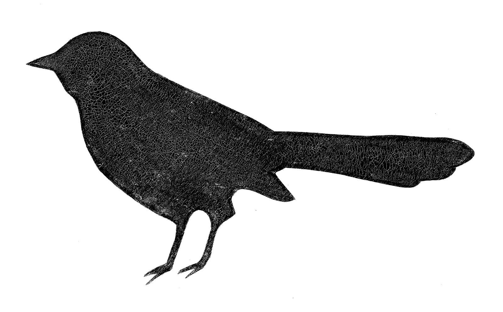 1600x993 Blackbird Clipart Bird Silhouette 3077529