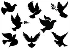 236x165 Single Flying Bird Silhouette Dove Wallpapers Gallery
