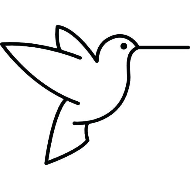 Bird Silhouette Outline at GetDrawings.com | Free for personal use ...