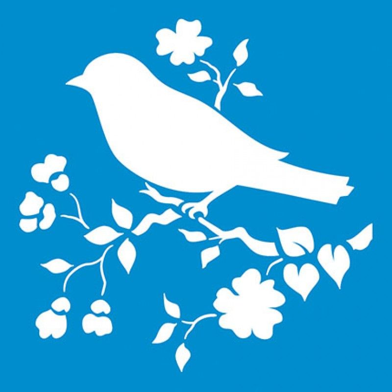 800x800 Resultado De Imagen Para Stencils Para Imprimir Bird Stencil