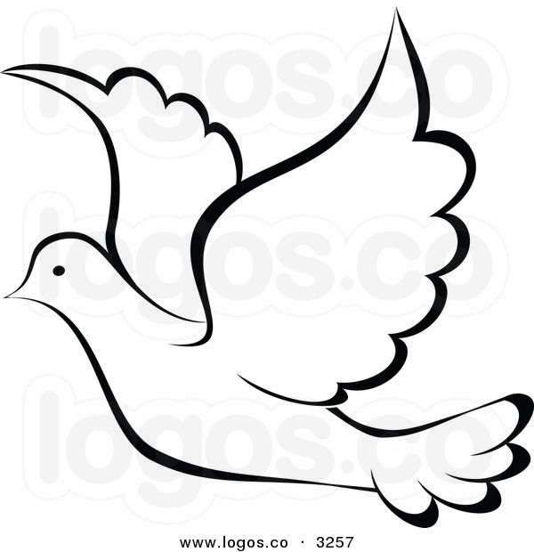 600x620 Parrot Clipart Black And White Clipart Panda