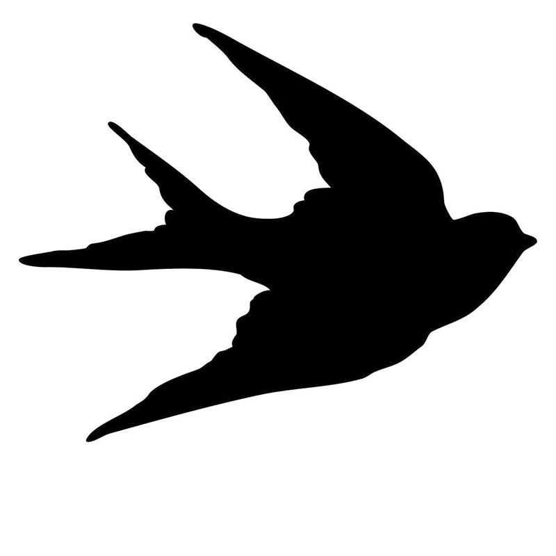 800x800 Wholesale 10pcslot 20pcslot Cool Landing Bird Silhouette Jdm