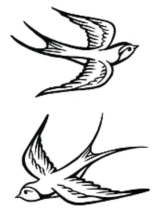 520x713 Sparrow Outline By On Sparrow Outline By Jack Sparrow Tattoo